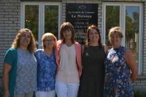 Patrizia, Colette, Josée, Isabelle, Diane