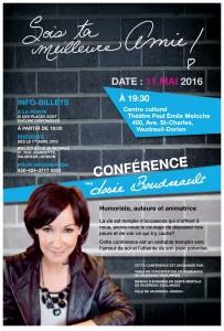 Conférence Josée Boudreau 11 mai 2016